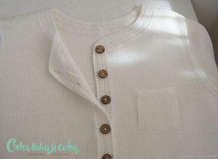 Бохо платье-рубаха ручной работы на заказ