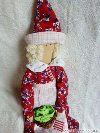 """Кукла Тильда """"Белоснежка"""" ручной работы на заказ"""