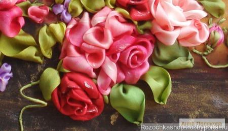 """Розы """"Экспрессия"""" ручной работы на заказ"""