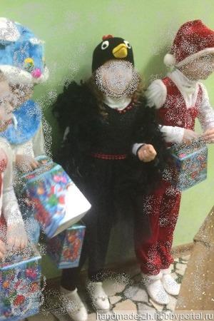 """Новогодний костюм """"Ворона"""" ручной работы на заказ"""