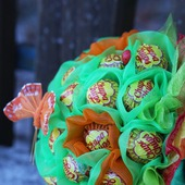 Букет из конфет чупа-чупс
