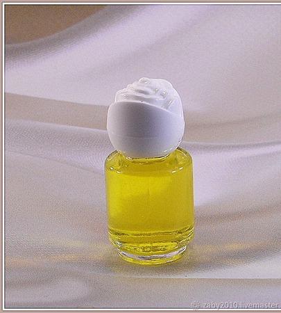 Духи ручной работы «Желтый бриллиант» ручной работы на заказ