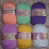 Пряжа Color City Milk cotton