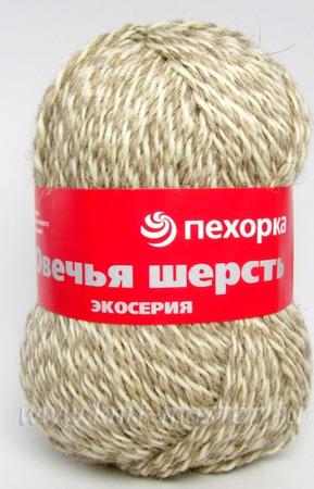 """Натуральная пряжа для вязания Пехорка """"Овечья шерсть"""" ручной работы на заказ"""