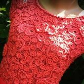 Платье Коралловый ажур