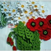 Набор для творчества Цветочки для ирландского кружева