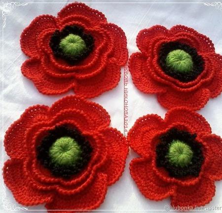 Набор для творчества Цветочки для ирландского кружева ручной работы на заказ