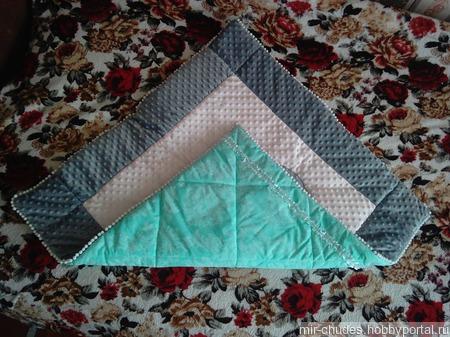 Одеяла-конвертик для вашего малыша ручной работы на заказ
