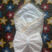Одеяло-конвертик для вашего малыша