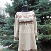 Платье из твидовой шерсти