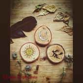Деревянные подставки под кружку