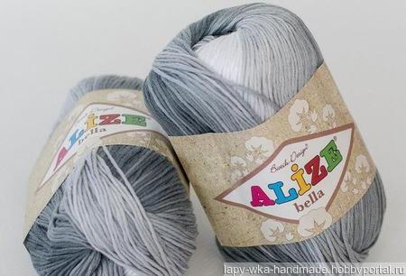 Пряжа Ализе Бэлла Batik ручной работы на заказ