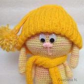 Игрушка для малыша Зайка в шапочке
