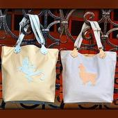 """Двухцветная женская кожаная сумка """"Atacama"""" голубой и бежевый"""