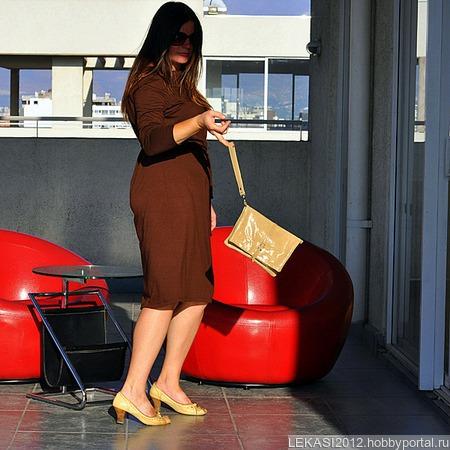 """Женский кожаный клатч """"Mirror"""" пустынная змея ручной работы на заказ"""