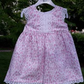 Летнее платье для девочки