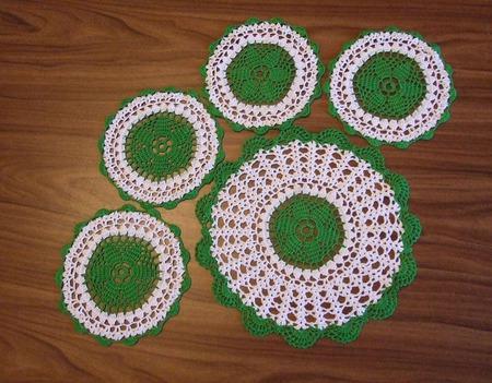 Комплект салфеток для сервировки ручной работы на заказ