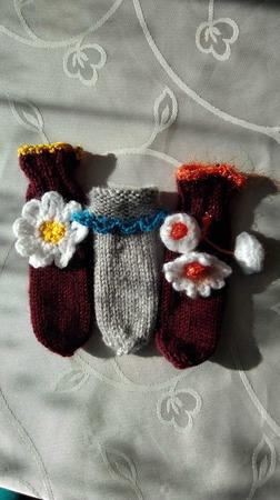 Чехол-носочки для стула ручной работы на заказ
