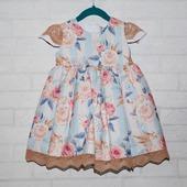 фото: платье с цветами