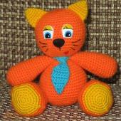 Оранжевый котенок
