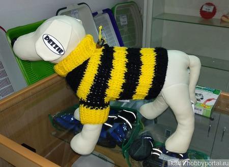 """Свитер """"Пчёлка"""" ручной работы на заказ"""