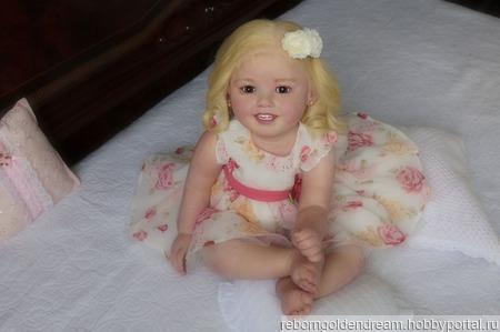 "Кукла реборн ""Камми"" ручной работы на заказ"