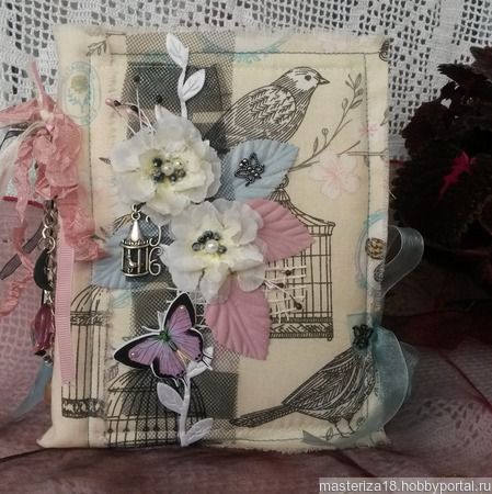Блокнот-альбом для девушки ручной работы на заказ