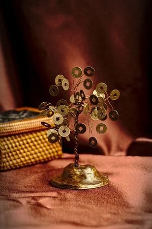 Денежное дерево ручной работы на заказ