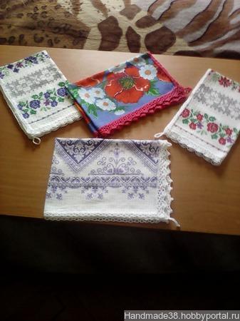 Полотенца кухонные ручной работы на заказ