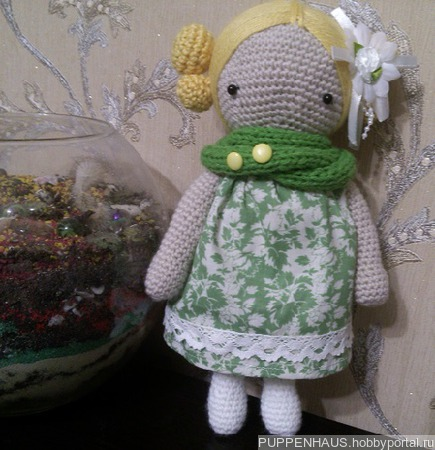 Кукла Агата ручной работы на заказ