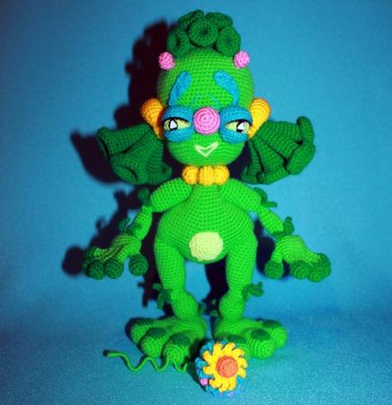 Инопланетяшки Елоу и Грин ручной работы на заказ