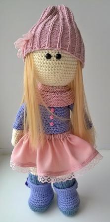 Кукла Лаванда ручной работы на заказ