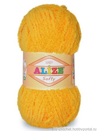 Пряжа Alize Softy ручной работы на заказ