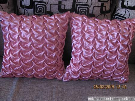 Декоративные подушки ручной работы на заказ