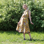 Платье хлопковое летнее