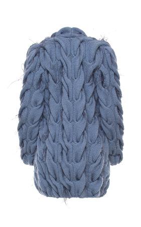Купить кардиган в стиле Лало с перьями страуса в Москве ручной работы на заказ