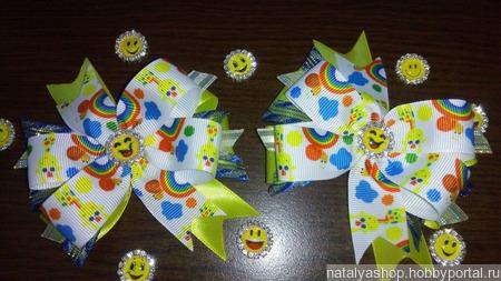 Бантики для маленьких леди ручной работы на заказ