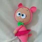 Пупс Бонни в костюме свинки