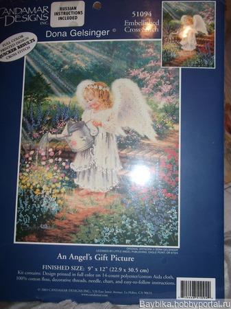 """Кандамар 51094 """"Цветочный Ангел"""" ручной работы на заказ"""