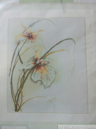 """Набор для вышивания Ланарт 34786 """"Орхидея"""" ручной работы на заказ"""