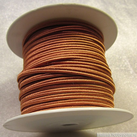Сутаж греческий кирпичный ручной работы на заказ