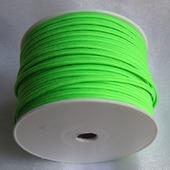 Сутаж греческий зеленый неон