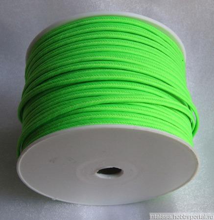 Сутаж греческий зеленый неон ручной работы на заказ