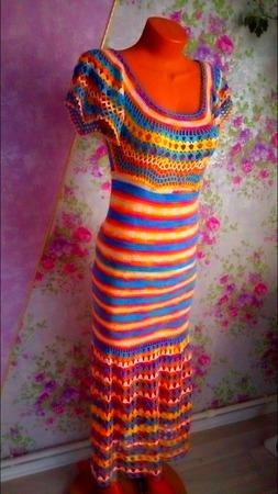 """Платье """"Секрет Клеопатры"""" ручной работы на заказ"""