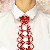 Кружевной галстук «Изящный штрих»