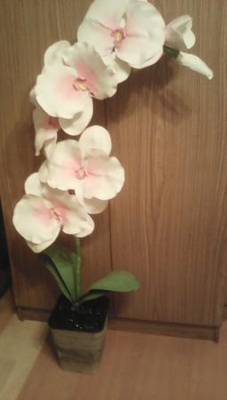 Большая орхидея ручной работы на заказ