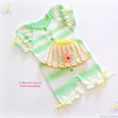фото: Одежда для новорожденных и детей до года (панамка детская)