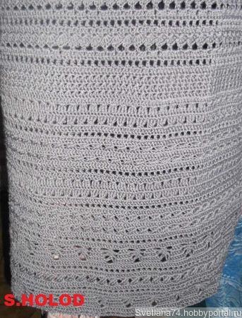Платье-сарафан ручной работы на заказ