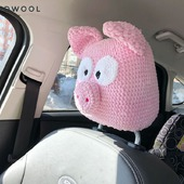 Подголовник, подушка, автоподголовник авточехлы «Свинья»