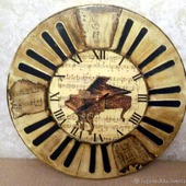 """Часы настенные """"Старый Рояль"""""""